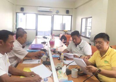 ประชุมอนุกรรมการร่างระเบียบ 27 ส.ค. 62