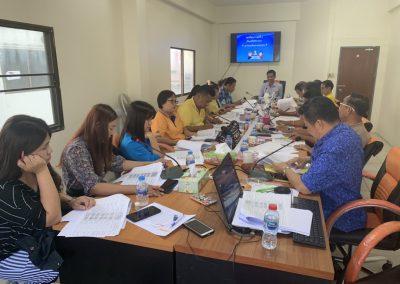 ประชุมคณะกรรมการดำเนินการ 12 ก.ย. 62